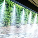 Climatización de jardines